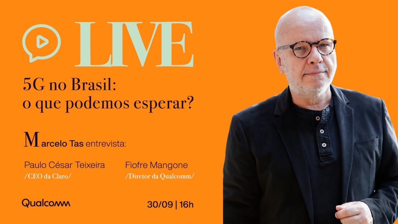 5G no Brasil: o que podemos esperar? | LIVE 1 5G | Qualcomm